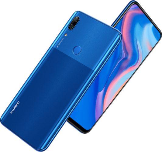 Huawei P Smart Z blu panoramica