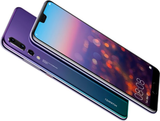 Huawei P20 Pro twilight purple overview