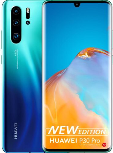 Huawei P30 Pro New Edition blu panoramica