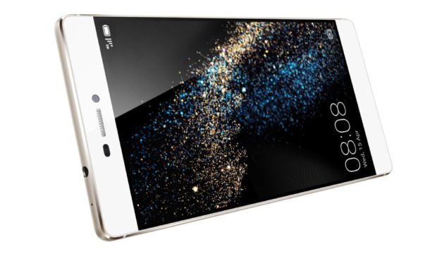 Huawei P8 gedraaid schuin