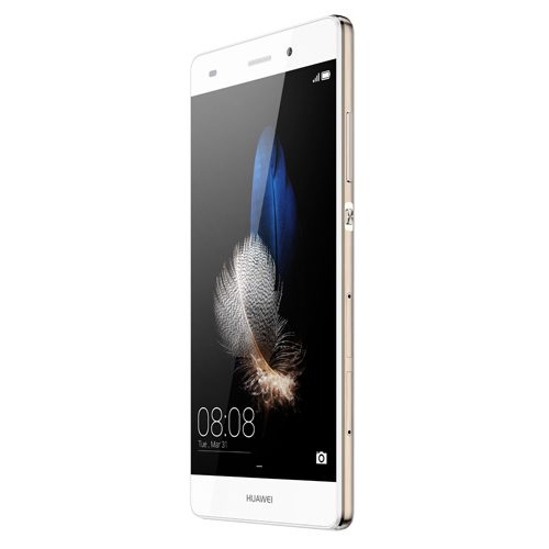 Huawei P8 Lite Dual Sim rechterzijkant schuin