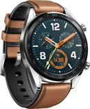 Huawei Watch GT classic brown front left side