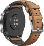 Huawei Watch GT classic brown back right side