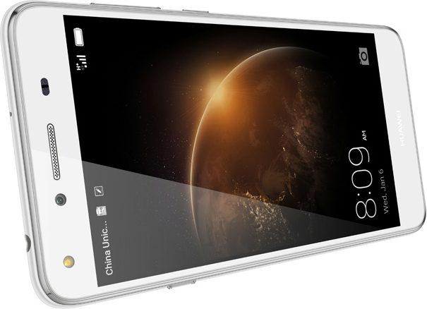 Huawei Y5 II wit gedraaid schuin