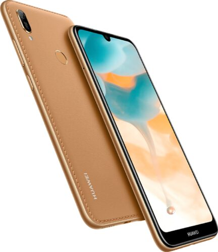 Huawei Y6 2019 gold overview