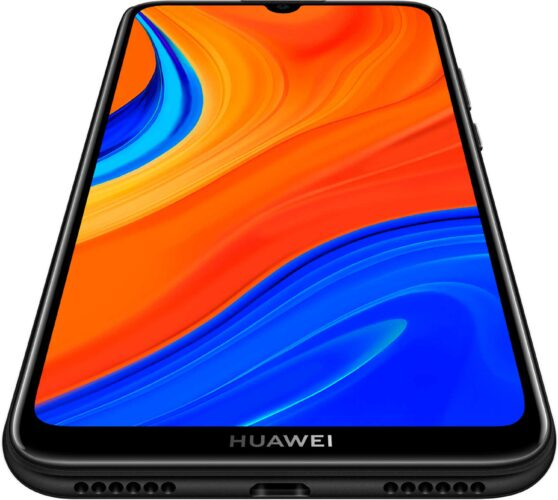 Huawei Y6s black front bottom