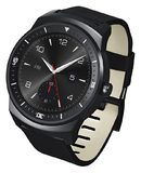 LG G Watch R tilted ed right side