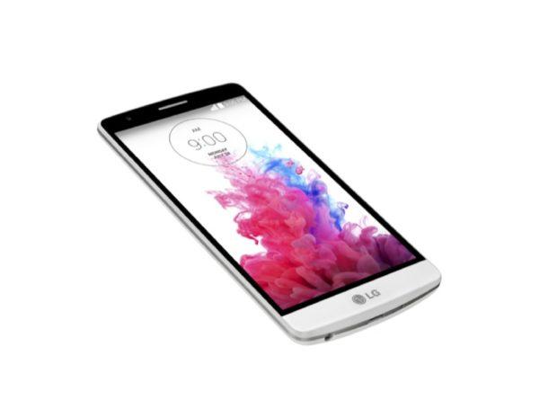 LG G3 s schuin silk wit