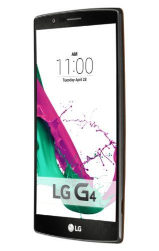 LG G4 voorkant rechterzijkant schuin