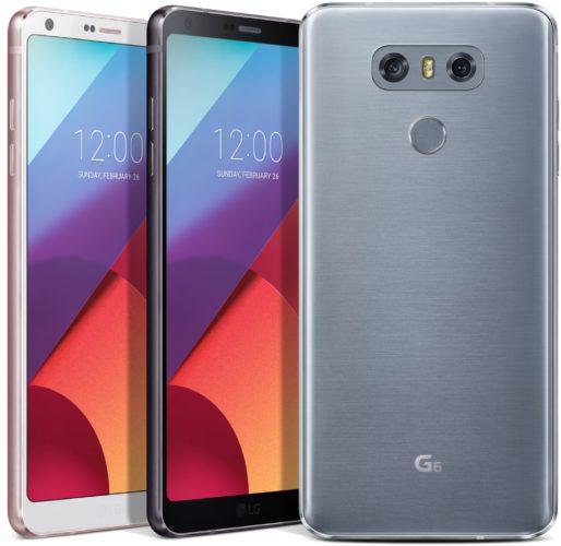 LG G6 kleuren overzicht