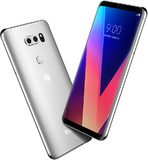 LG V30 silver overview