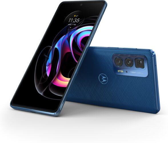 Motorola edge 20 Pro vegan blau Übersicht