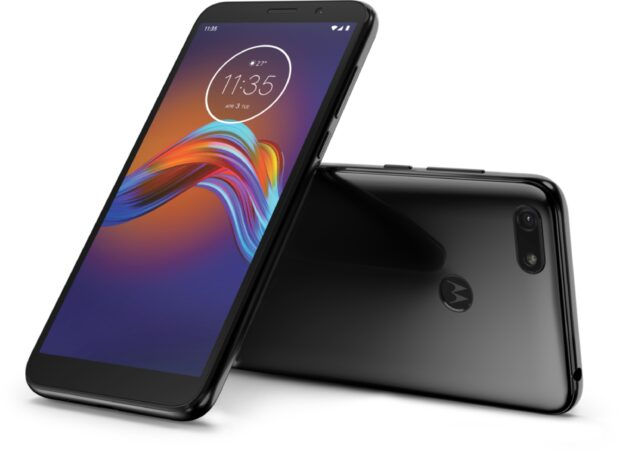 Moto rola Moto E6 Play black overview