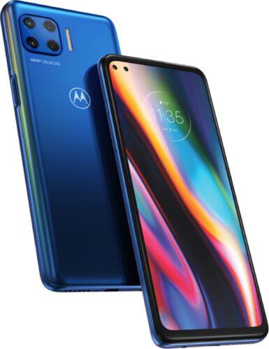 Motorola Moto G 5G Plus azul visión general