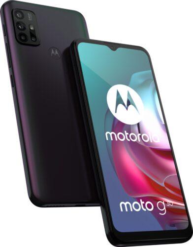 Moto rola Moto G30 schwarz Übersicht