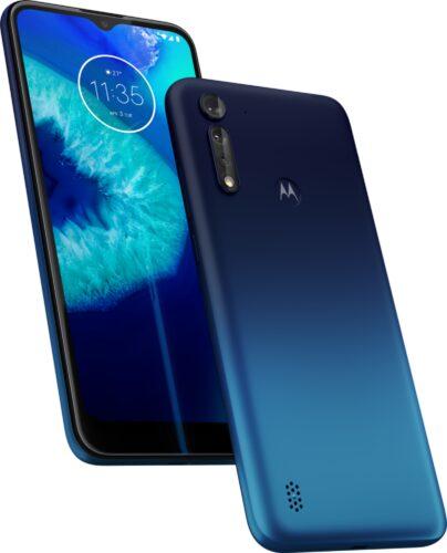 Moto rola Moto G8 Power Lite blu panoramica