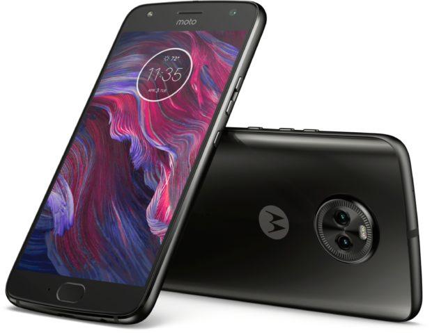 Moto rola Moto X4 zwart overzicht