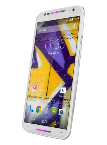 Motorola new Moto X rechterzijkant schuin