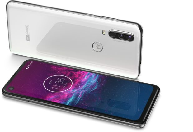 Motorola One Action wit overzicht