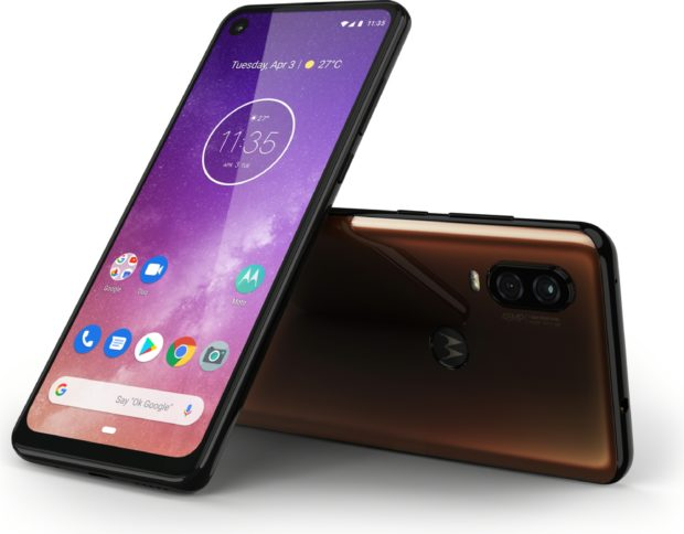 Motorola One Vision overview bronze