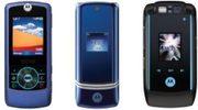 New models introduced by Motorola; RIZR, KRZR, RAZR xx and RAZR MAXX
