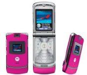 Motorola RAZR V3 Special Edition Pink
