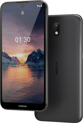 Nokia 1 3 black overview
