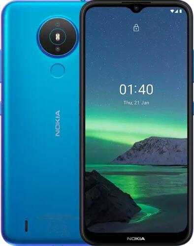 Nokia 1 4 blauw overzicht