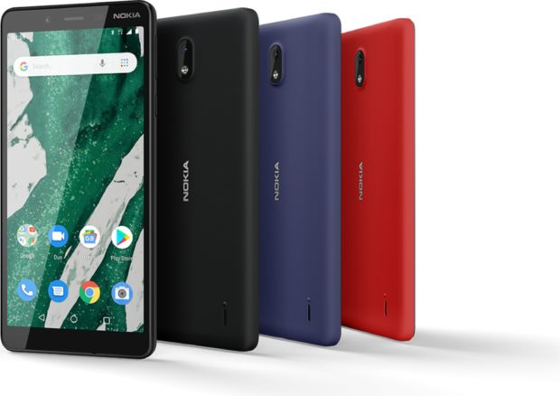 Nokia 1 Plus color overzicht