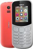 Nokia 130 2017 rood overzicht