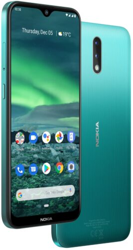 Nokia 2 3 green overview