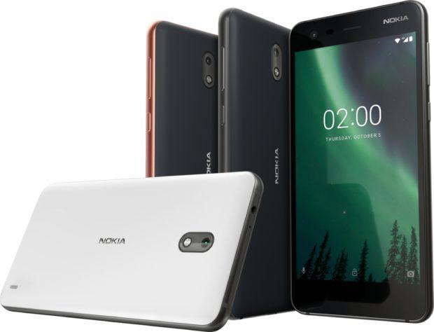 Nokia 2 overzicht