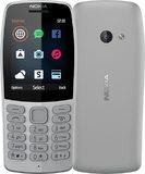 Nokia 210 grijs overzicht