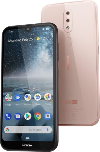 Nokia 4 2 pink overview