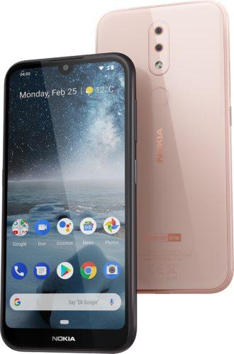 Nokia 4 2 pink overzicht