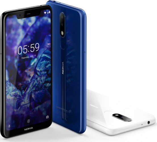 Nokia 5 1 color overview