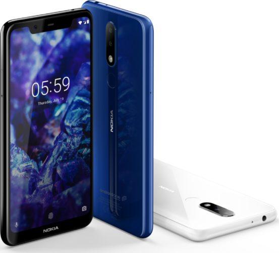 Nokia 5 1 color overzicht