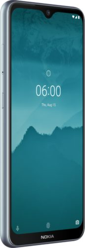 Nokia 6 2 silver front left side