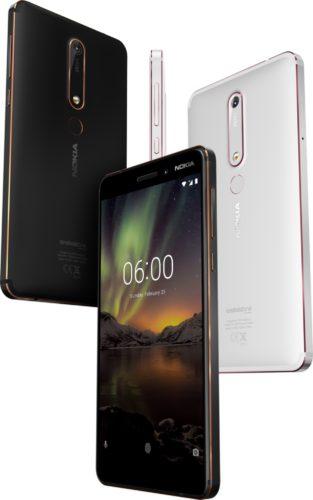 Nokia 6 2018 overzicht