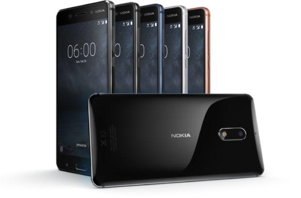 Nokia 6 kleuren overzicht