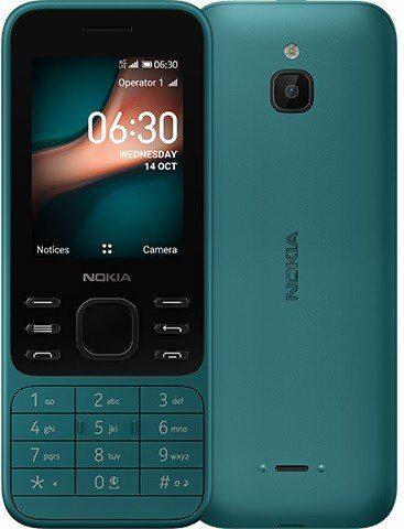 Nokia 6300 4G verde panoramica