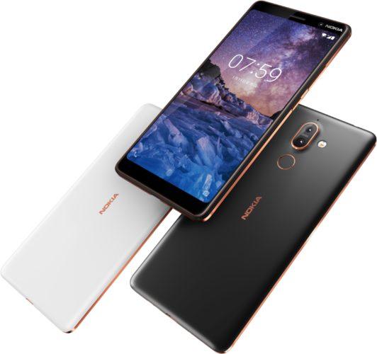 Nokia 7 plus overzicht