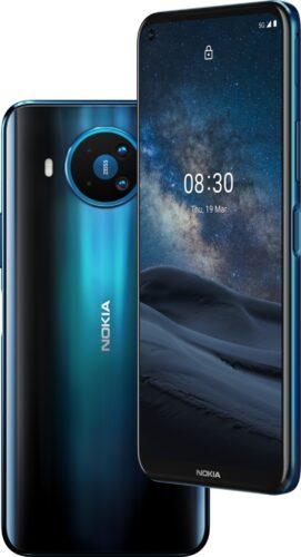 Nokia 8 3 5g azul visión general