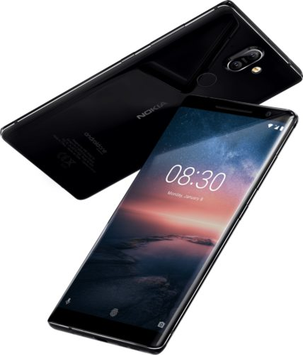 Nokia 8 Sirocco overzicht