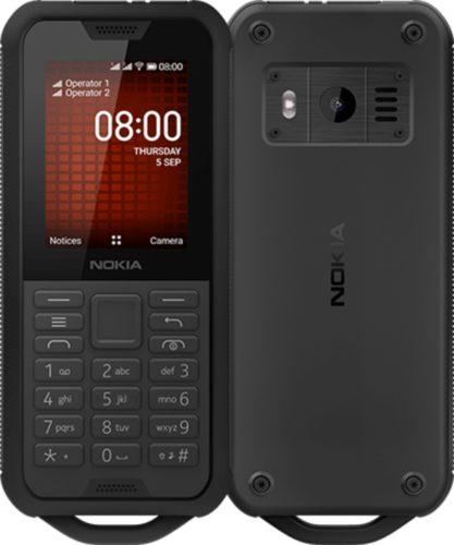 Nokia 800 Tough zwart overzicht