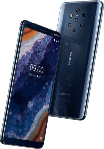 Nokia 9 PureView blue overview