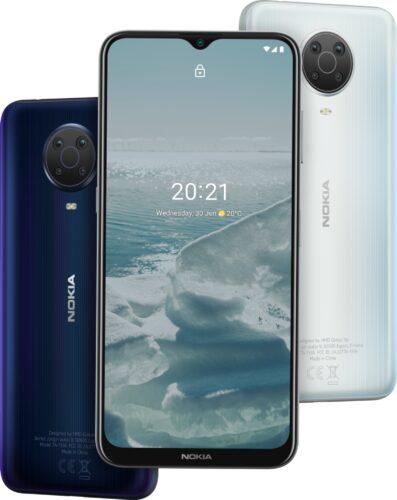 Nokia G20 kleuren overzicht