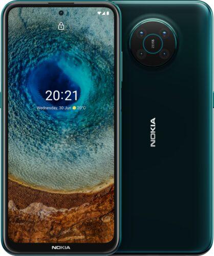 Nokia X10 groen overzicht