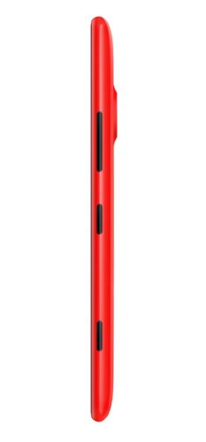 Nokia Lumia 1520 rood zijkant