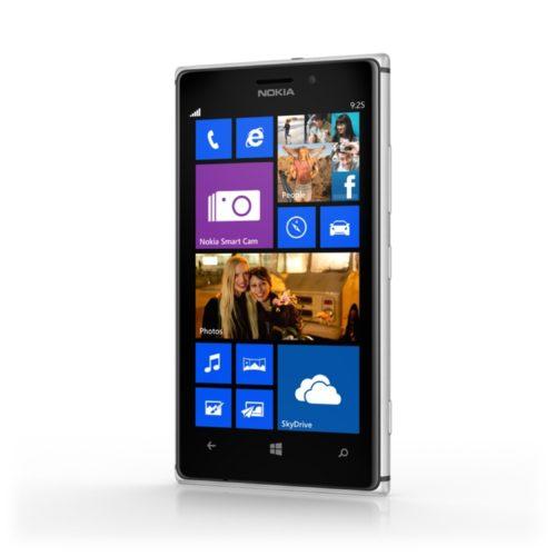 Nokia Lumia 925 voorkant schuin